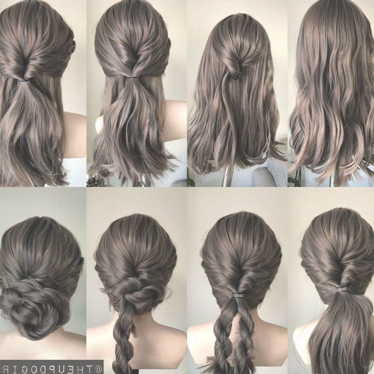 Gorgeous And Easy Homecoming Hairstyles Tutorial For Women Easy Hairstyles For Medium Length Hair For Homecoming