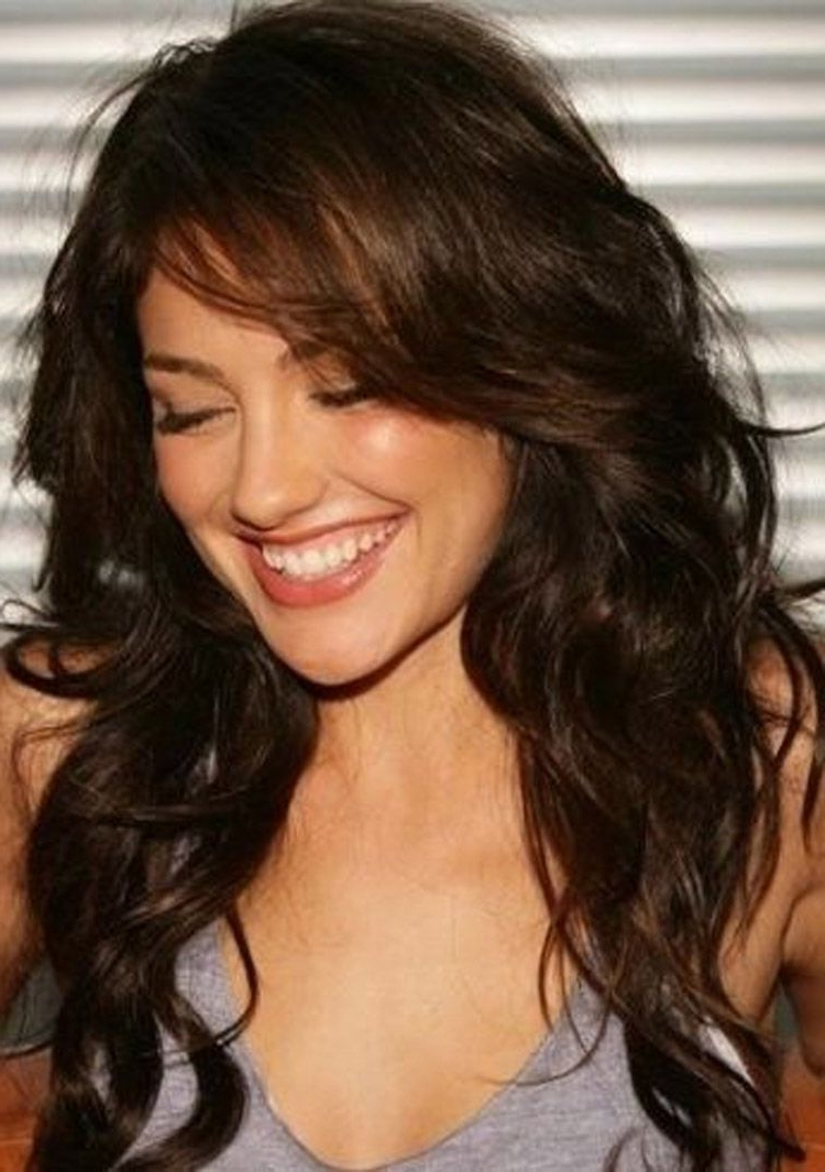 Medium Length Hairstyles For Curly Hair With Bangs Curly Medium Length Hairstyles 2015