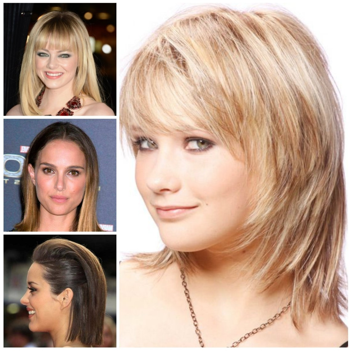 Mid Length Straight Hairstyle Ideas For 2016   2019 Haircuts 10+ Amazing Medium Hairstyles Fine Hair 2017