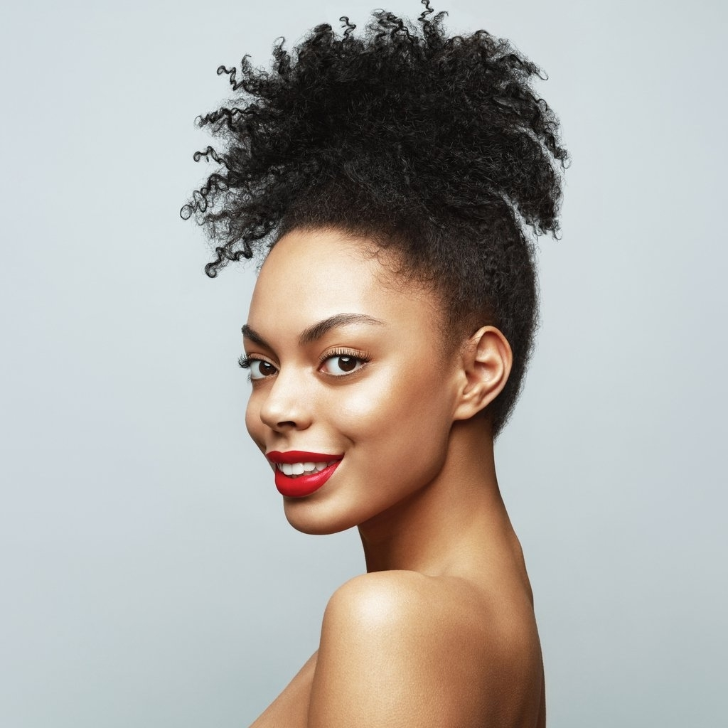 Natural Hairstyles For Black Women: 56 Fabulous Looks Professional Natural Hairstyles For Medium Length Hair