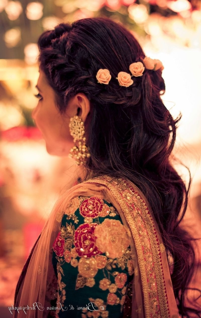 Oh So Gorgeous Bridal Hairstyles For All Hair Lengths! 10+ Awesome South Indian Wedding Hairstyles For Medium Hair