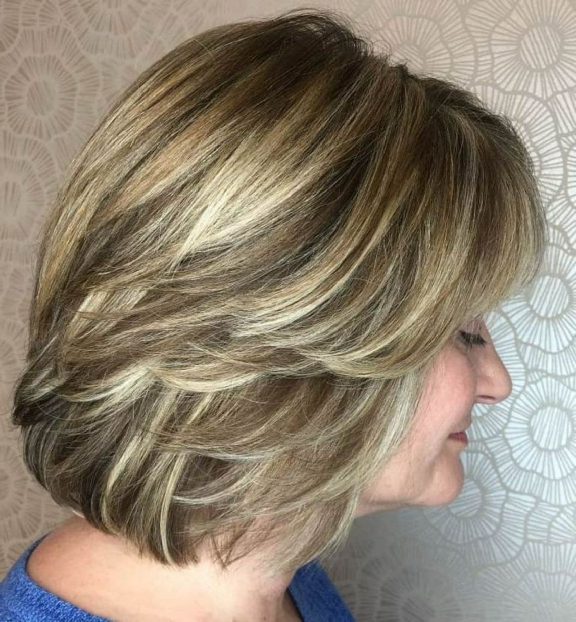 Over Medium Wash And Wear Haircut In 2020 | Thick Hair 10+ Stunning Medium Length Wash And Wear Hairstyles