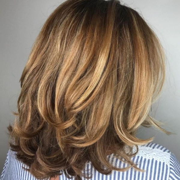 Pin On Hair 10+ Awesome Layered Hairstyles For Medium Length Hair For Over 50