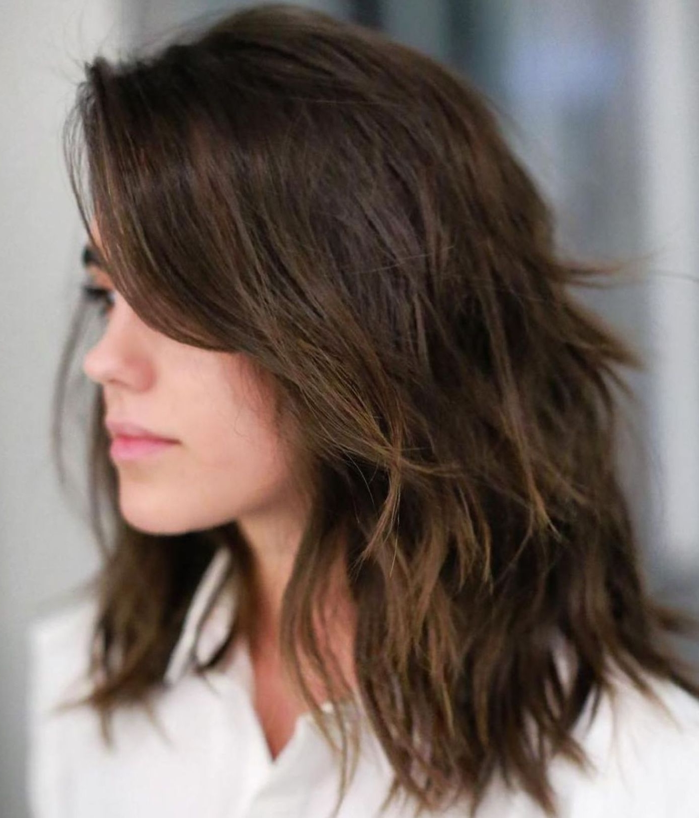 Pin On Hair Layered Low Maintenance Medium Length Hairstyles For Thick Hair