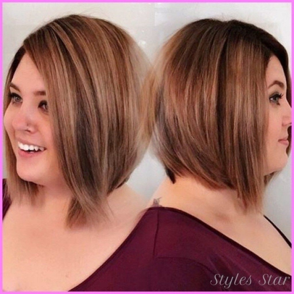 Pin On Hair Styles And Color Medium Length Plus Size Hairstyles Double Chin