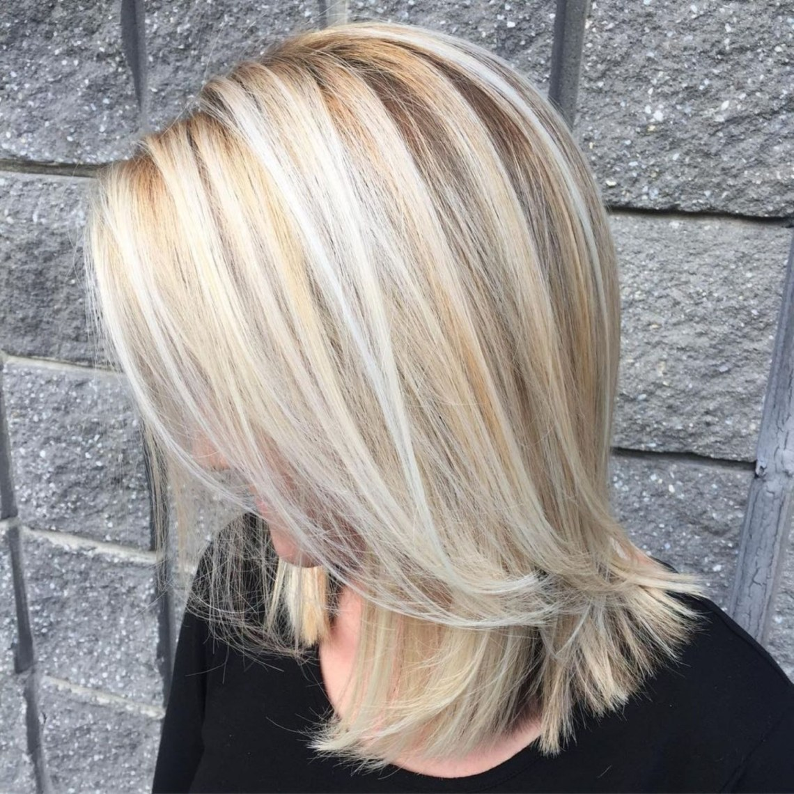 Pin On Hair Styles Medium Length Blonde Hairstyles Straight