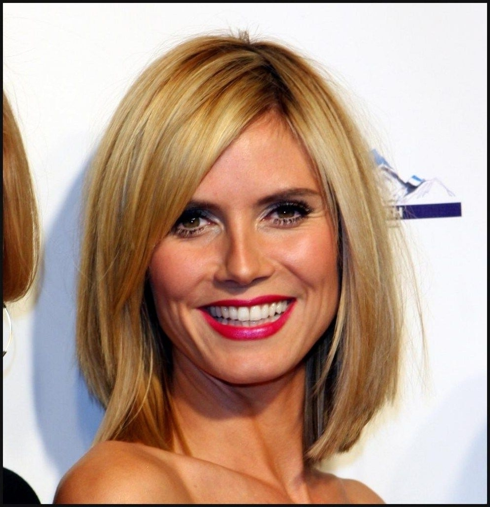 Pin On Hairstyles 20+ Stunning Heidi Klum Medium Hairstyle