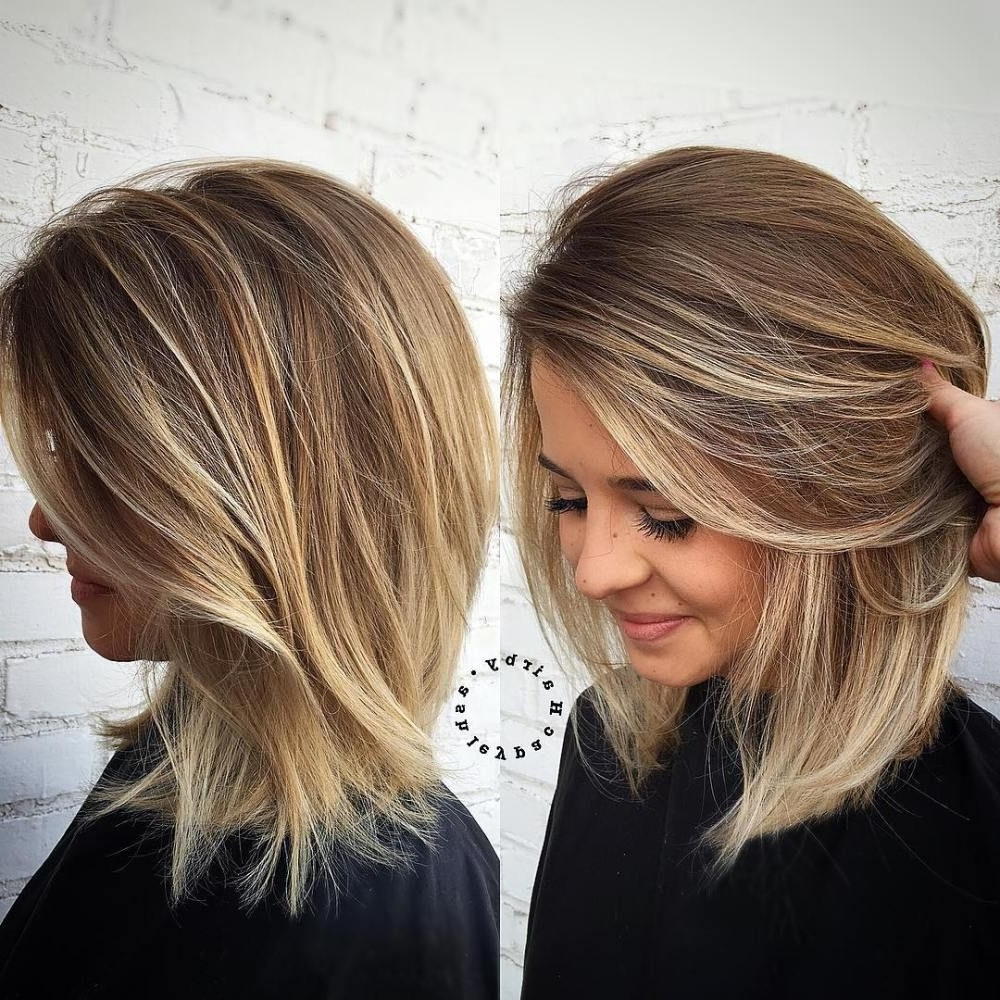 Pin On Strands Medium Hairstyles 2017 For Thick Hair