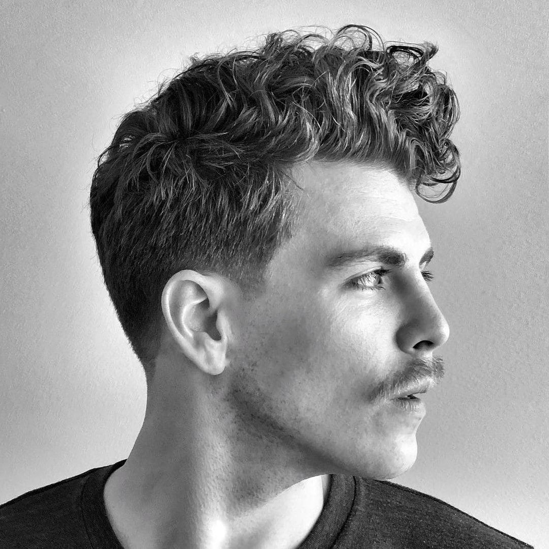 The 45 Best Curly Hairstyles For Men | Improb Medium Mens Curly Hairstyles
