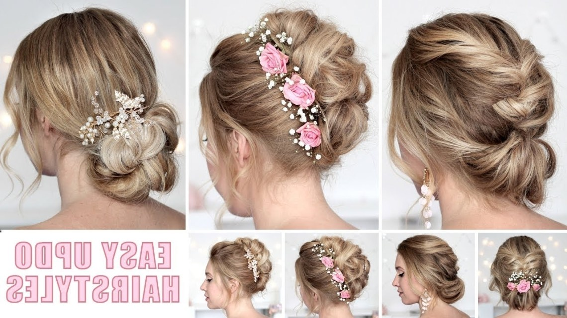 Wedding Hairstyles For Medium/Long Hair Tutorial ❤ Quick And Easy Updos 10+ Adorable Flower Girl Hairstyles For Medium Hair
