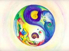Yin-Yang: Earth and Sky