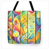 Colorful Abstract bag