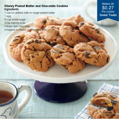 PB and Chocolate cookies