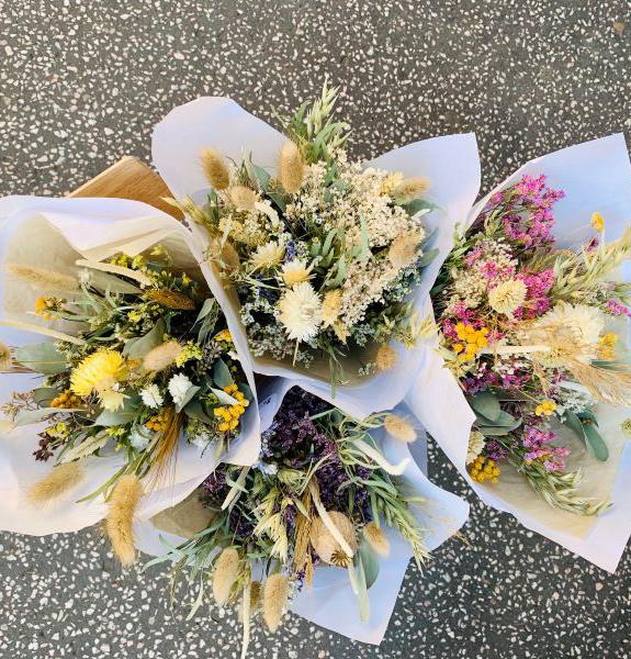 bouquet fleurs séchées S