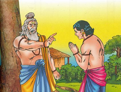 An angry Parshuram curses Karna