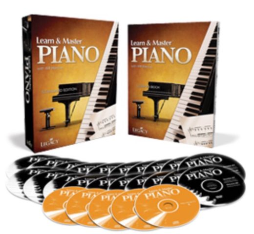 Learn and Master: Piano. Learn to play piano easily with piano lessons at home! This DVD set is inexpensive as compared to private lessons and will help you quickly learn different styles of music.