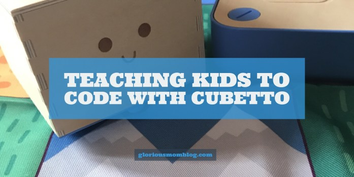 Teaching kids how to code with Cubetto: my review of an awesome programmable robot for kids. Read it at gloriousmomblog.com.