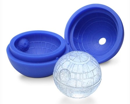 This is a must-have for the Star Wars fan in your life. How cool are these ice cubes -er, spheres?!