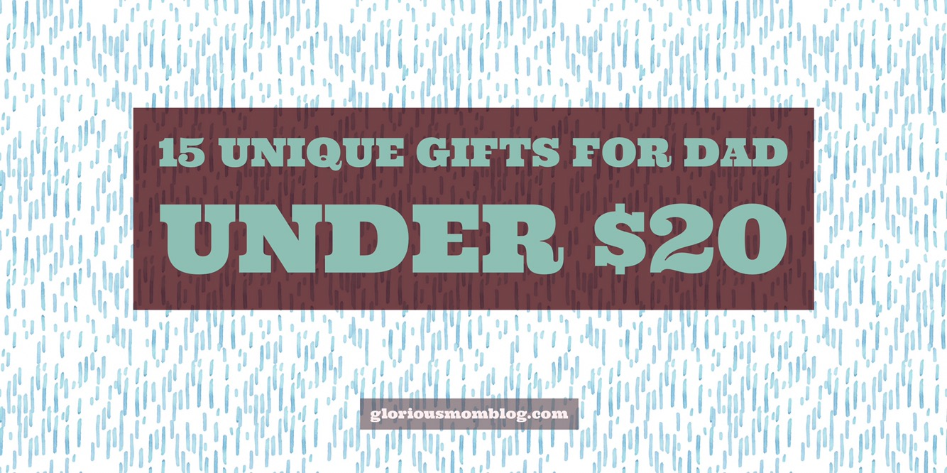 15 Unique Gifts For Dad Under 20