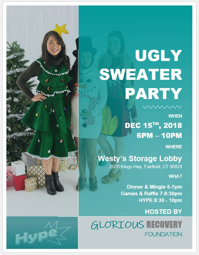 Ugly Sweater Party Dec 15 2019