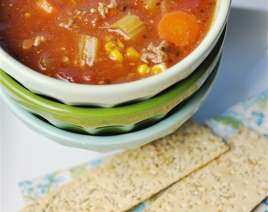 Abalos-Style Hamburger Soup (Picadillo Filipino) Recipe
