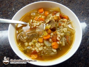 Recipe For Beef Barley Soup
