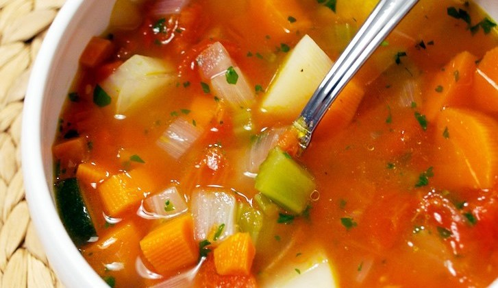 Recipe For Quick and Zesty Vegetable Soup