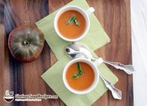 Recipe For Cream of Fresh Tomato Soup