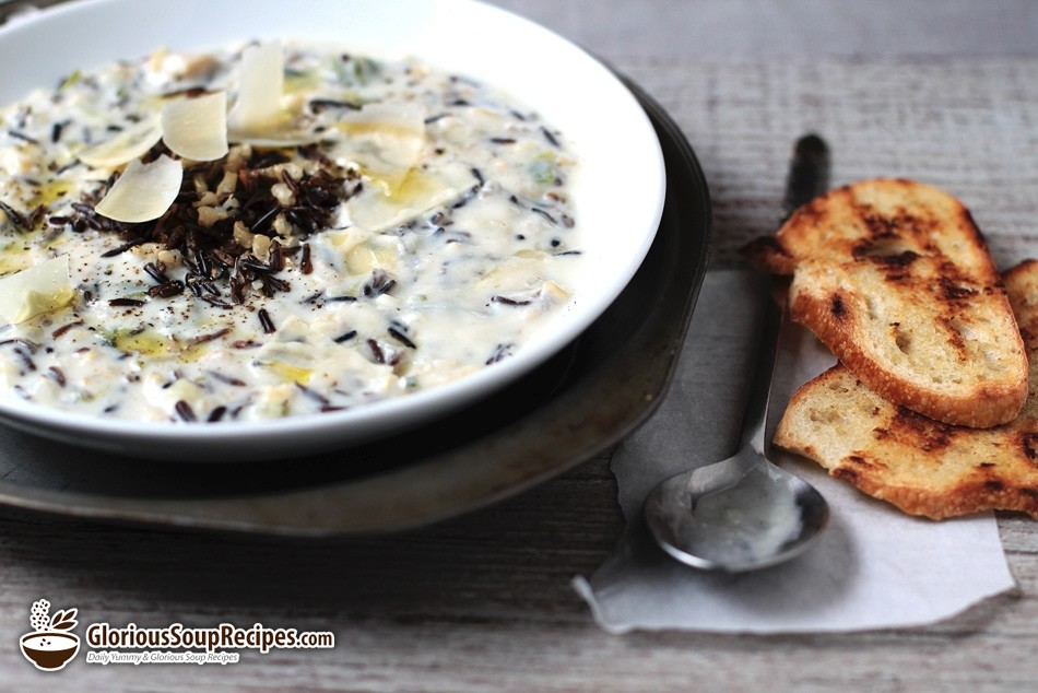 Curried Wild Rice Soup Recipe