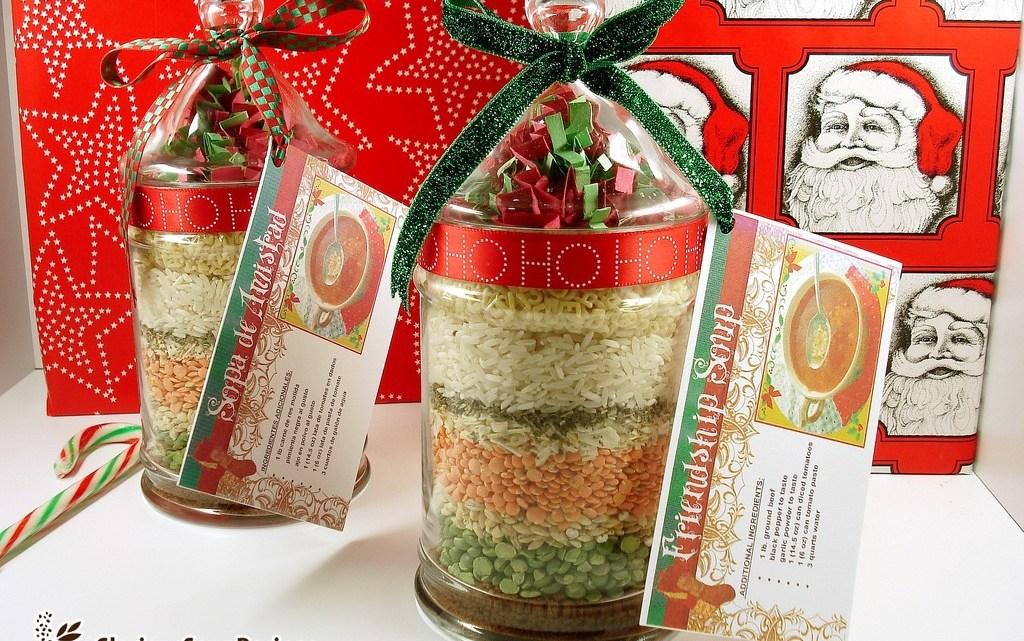 Friendship Soup Mix in a Jar Recipe