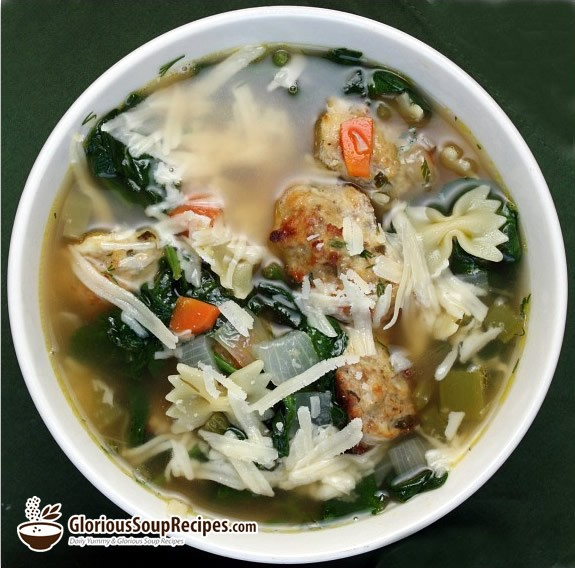 How To Make Italian Wedding Soup II Recipe