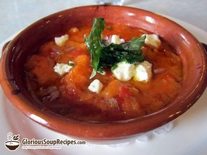 Recipe For Afghan Tomato Soup (Aush Goshti)