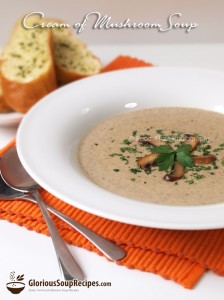Recipe For Cream of Mushroom Soup Recipe