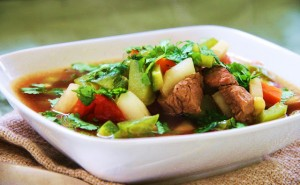How to make Peruvian Lamb Soup