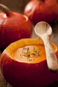 Pumpkin Soup the Easy Way