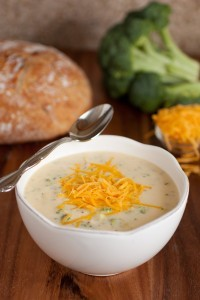 Recipe For Cheesy Floret Soup