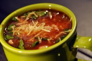 Tomato Florentine Soup II Recipe