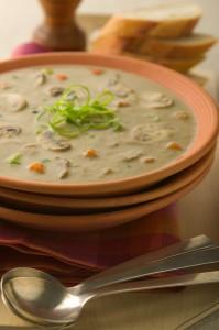 Recipe For Savory Mushroom Soup