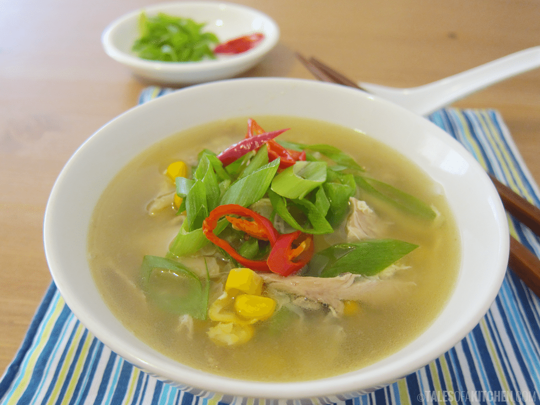 how to make chinese style corn soup