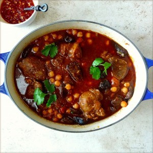 Recipe For Lamb and Bulgur Soup (Shorba Freek)