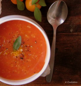 Orange and Lentil Soup