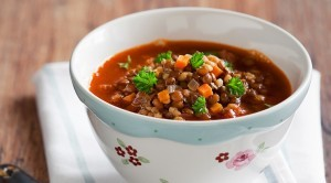 Recipe For Lentil and Smoked Sausage Soup