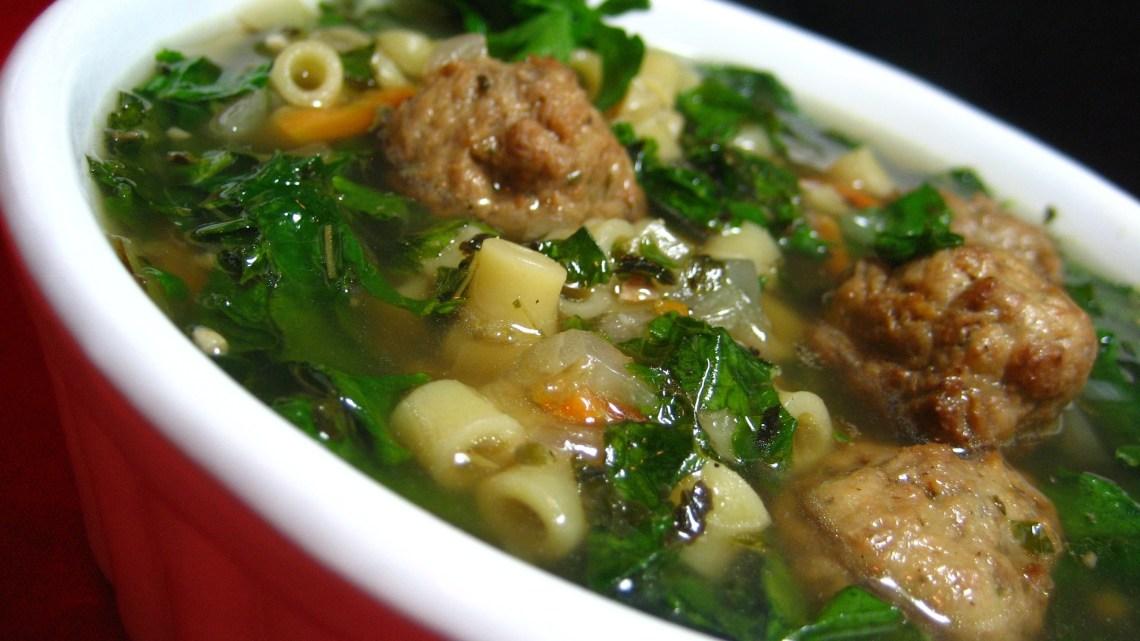 California Italian Wedding Soup Recipe