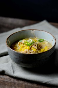 Chicken Corn Soup I