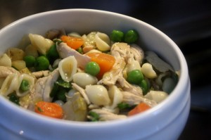 Chicken Vegetable Soup With Pasta Recipe