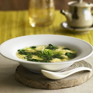 How To Make Whitney's Egg Flower Soup
