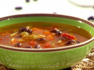 Recipe For Spicy Italian Sausage and Black Bean Soup