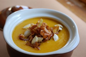 Alder Wood-Smoked Acorn Squash Soup
