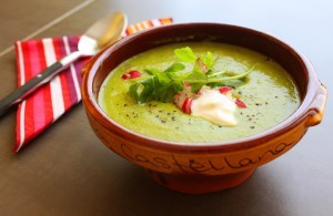 Fresh Pea Soup Recipe