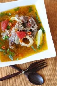 Kazakh Beef Soup